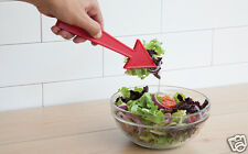 POINTER Salad Tongs Servers Spoons Red Arrow Kitchen Dining Gift Peleg Design