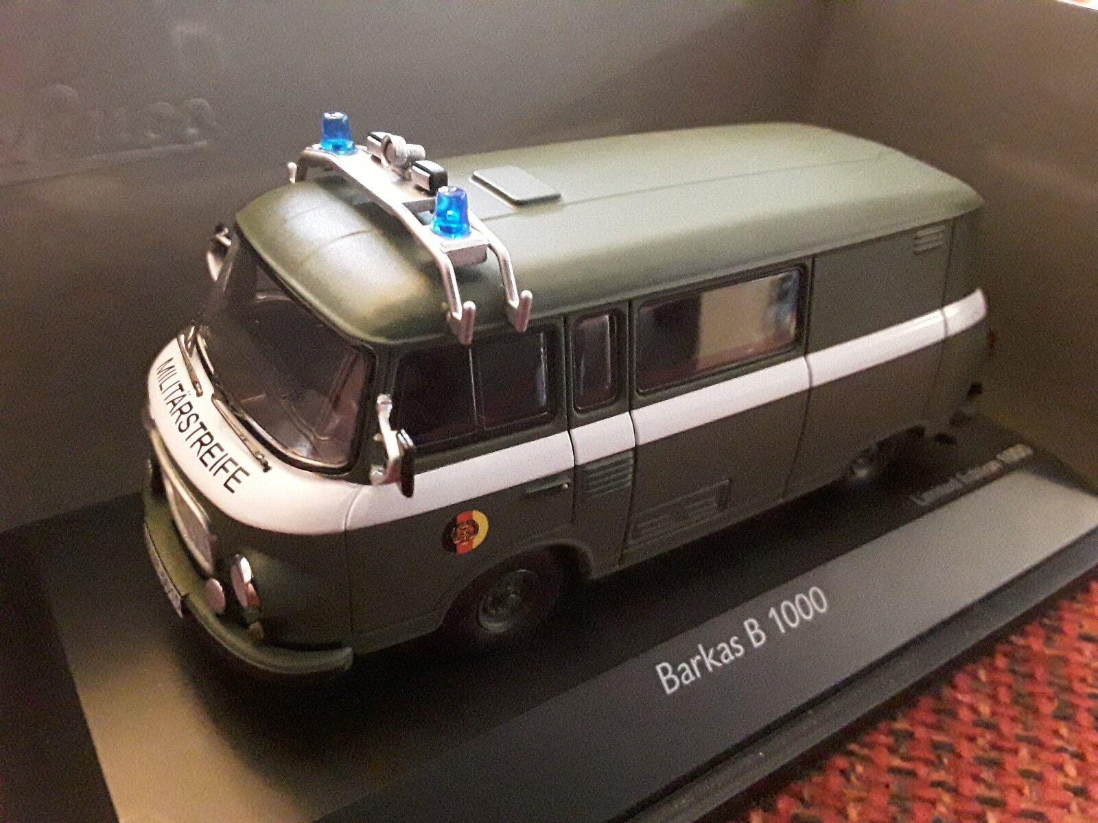 Barkas b1000  Militaire Patrouille 1 43 Schuco 450365200