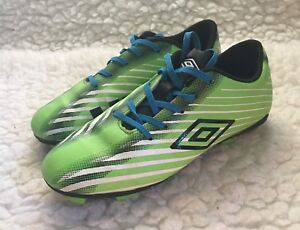 7a36a2f34ed Image is loading Umbro-Soccer-Cleats-Boys-Youth-sz-4-Green-