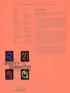 1931-55c-Forever-Spooky-Silhouettes-5420-5423-Souvenir-Page