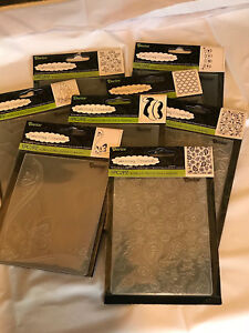 LAST-CHANCE-All-Brand-New-Darice-Embossing-Folders