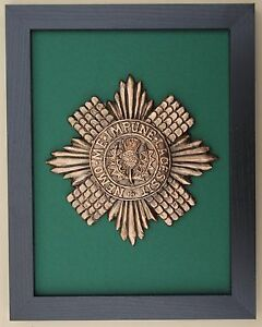 Large-Scale-Framed-SCOTS-GUARDS-BADGE-Plaque
