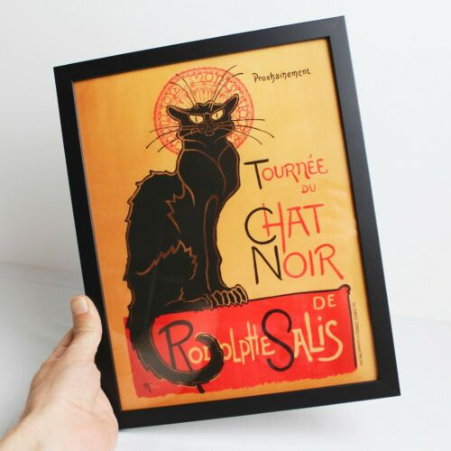 Size and Frame Options Tournee du Chat Noir Vintage French Cat Wall Art Print