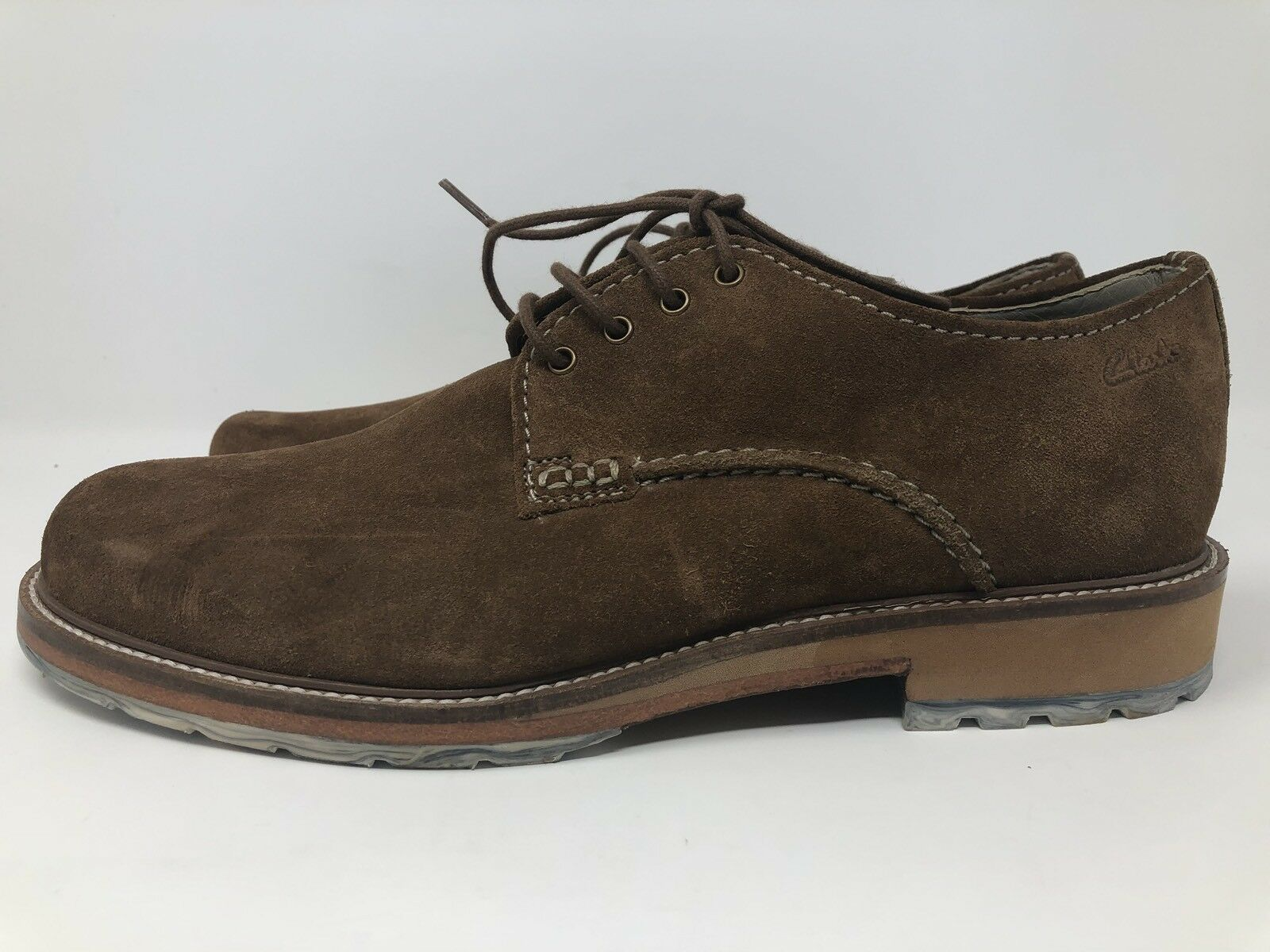 New Clarks Originals Desert London Brown Suede Size 9