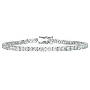 2-00-Carat-Natural-Diamond-Tennis-Bracelet-G-H-SI-14K-White-Gold-7-039-039-84-stones