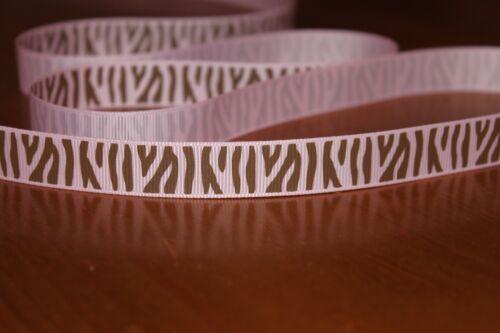 Zebra print ribbon animal print ribbon 4 colours various lengths cake//gift