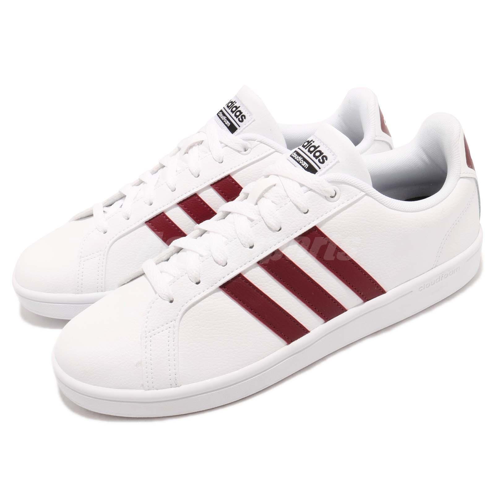 Adidas del vantaggio cloudfoam borgogna uomini scarpe casual da ginnastica da9636 | Facile da usare  | Uomini/Donne Scarpa