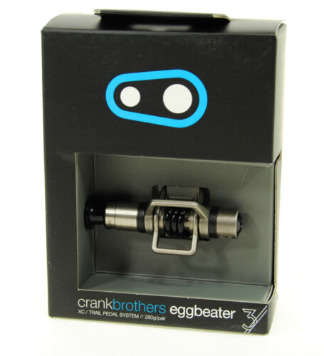 Crank Brothers Egg Beater 3 Pedals with Black Spring