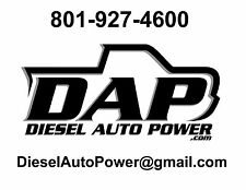 DAP 7x.016 7-HOLE Nozzles SAC +250HP spray 145*  91-98 12v Dodge RAM Diesel 5x20