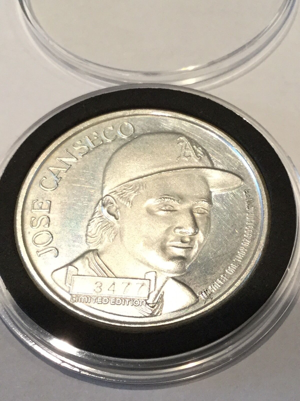 1 Oz Vintage Silver 999 T Jose Canseco 1988 League Mvp