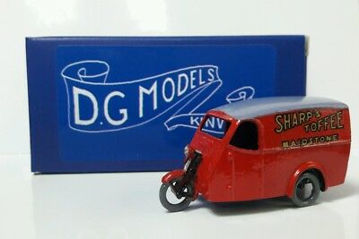 Brillante Oo 1/76 4mm 1934 Reliant Van Sharp's Toffee Ex-display Metal Model Made In Uk Ad Ogni Costo