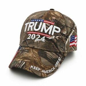 Donald Trump 2024 MAGA Hat Cap Camo USA KAG Make Keep America Great Again
