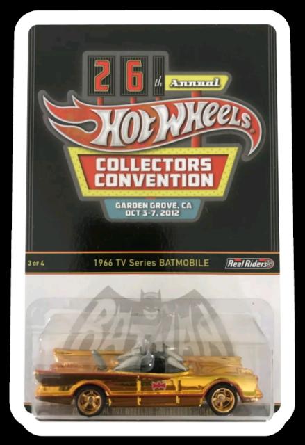 MAGNET 1966 Hot Wheels Batmobile 26th Convention MAGNET for Fridge Toolbox