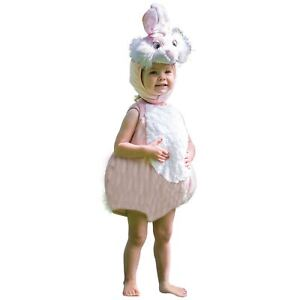 Kids Toddlers Girls Baby Pink Easter Bunny Rabbit Animal Cute Fancy