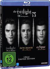 DIE TWILIGHT SAGA 1-3 (3 Blu-ray Discs) NEU+OVP
