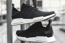 on sale 45867 cda01 Adidas NMD R1 Primeknit PK GUM Pack Core Black White Boost Ultra BY1887 Men  Sz 6