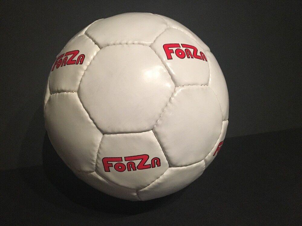 Lot 10 Anaconda Soccer Balls - Size 3 - Forza - White Hand Sewn - NEW Surplus