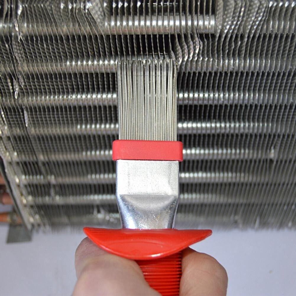 Image 01 - Universal Refrigeration HVAC Fin Comb Straightening Cleaning Brush Rake