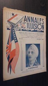 Rivista I Annali Di L Illusione per Lettera N° 15 ABE 1947