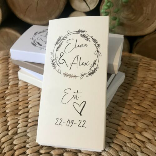 Wedding Favour Idea Favor Gifts Customized Wedding Tissues Tissue Packets