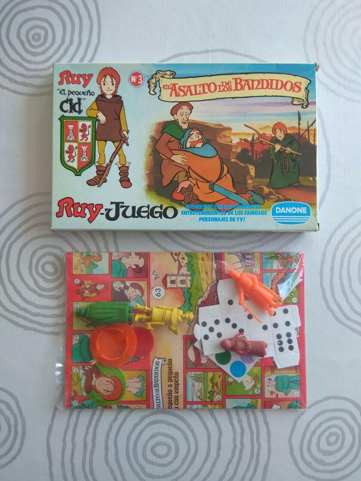 DUNKIN RUY EL PEQUEÑO CID - DANONE JUEGO Nº Nº Nº 3 EL ASALTO DE LOS BANDIDOS - NUEVO 076005