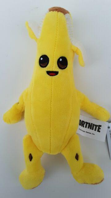 FORTNITE Small 8 Inch PEELY Plush NaNa NaNa Banana Toy Figure New