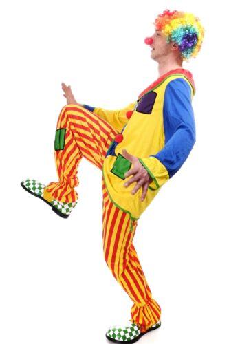 DRESS ME UP Costume Clown Uomo Donna Costume Circo Compleanno per Bambini Tg S//M l204