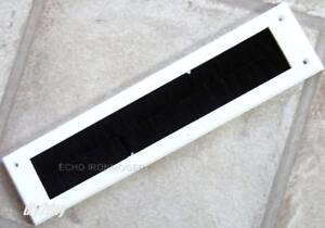 Constructif Intérieur En Plastique Blanc Lettre Case Cover Avec Brosse Partie Interne-afficher Le Titre D'origine Emballage Fort