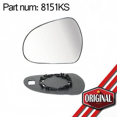 Miroir de r/étroviseur droit et base chauffante compatible avec Corsa D /à partir de 2006