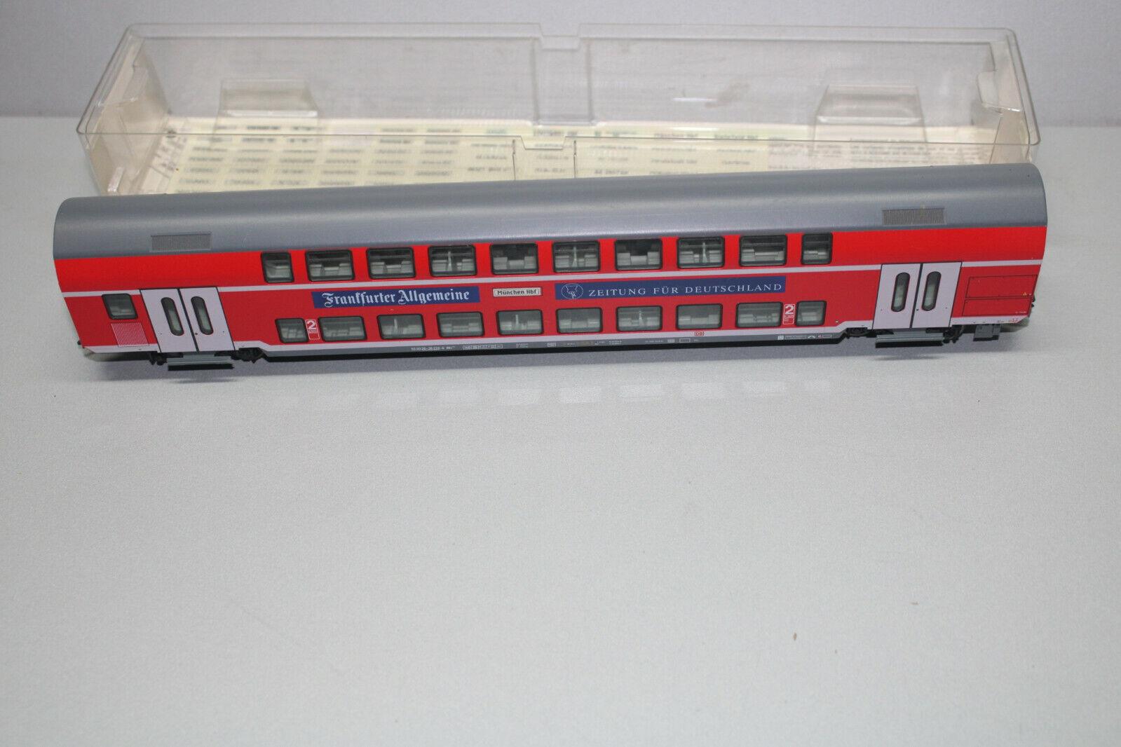 Fleischmann 98 98 98 5625 K 4-Trailer doble piso coche 2. clase frankfurter Algemeine s 2d9df7