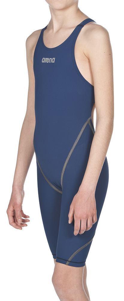 Arena- Girls Powerskin ST 2.0-blauw-Knee-pakken