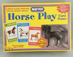 Breyer-55016P-Stablemates-Horse-Play-Bay-Morgan-Model-Horse-Card-Game-Set-NIB
