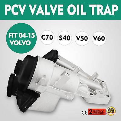 PCV Valve Oil Trap Oil Filter Housing Fit for Volvo 16-04