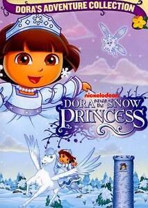 Dora-Saves-the-Snow-Princess-DVD-BRAND-NEW-BILINGUAL