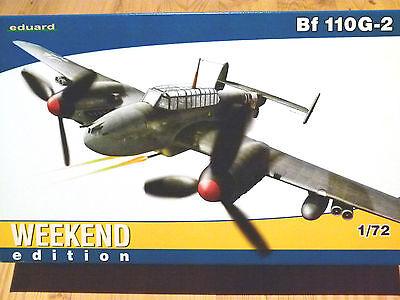 Eduard Weekend Edition 1:72 Messerschmitt Bf 110G-2 Aircraft Model Kit