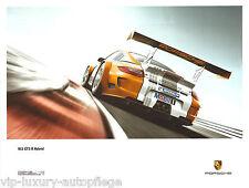 Porsche Poster 911 997 GT3 R Hybrid  Reprint 2013  Größe: 60 x 80 cm