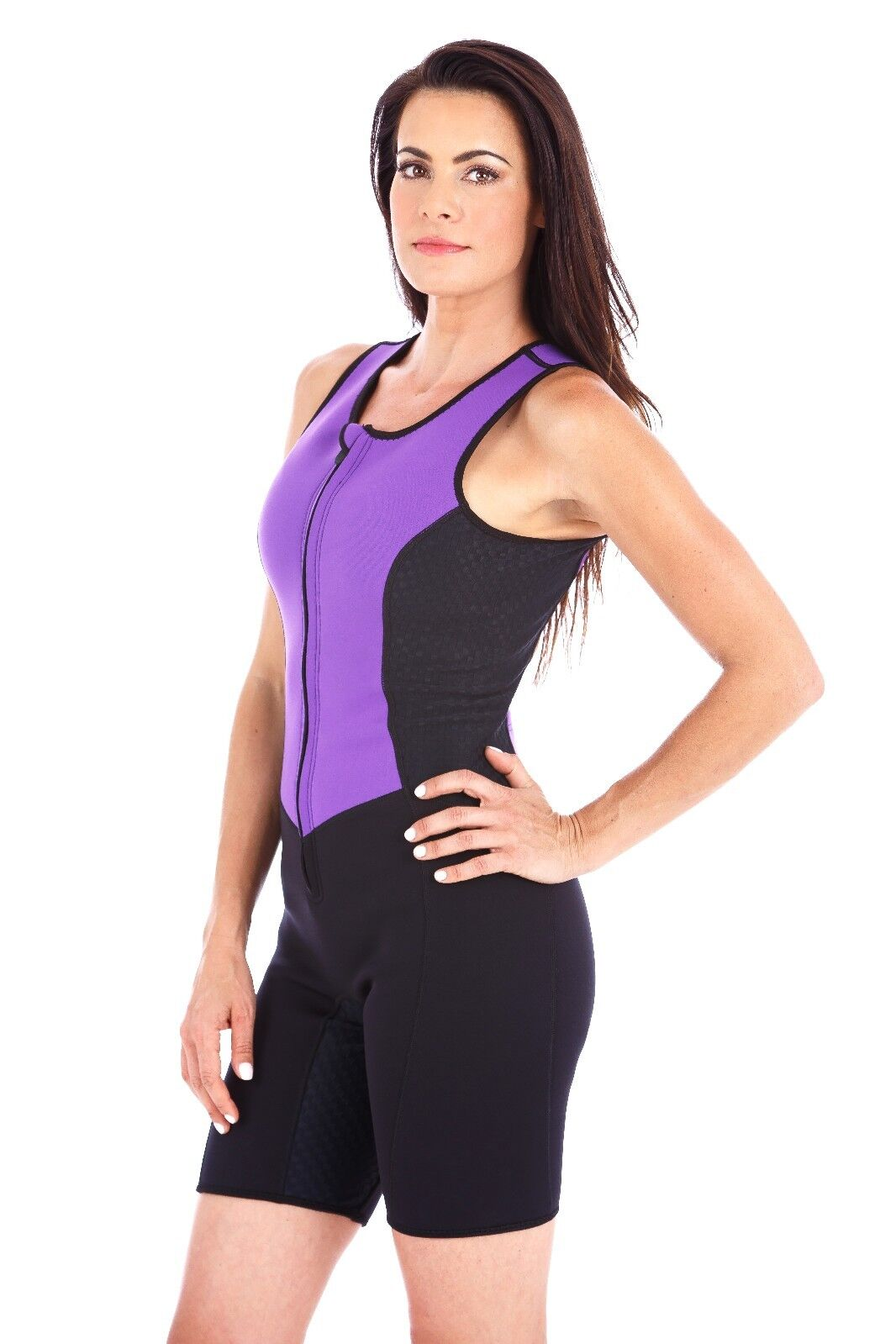 Kutting Weight Neoprene Weight Loss One-piece Women's Sauna Suit Fitness Apparel