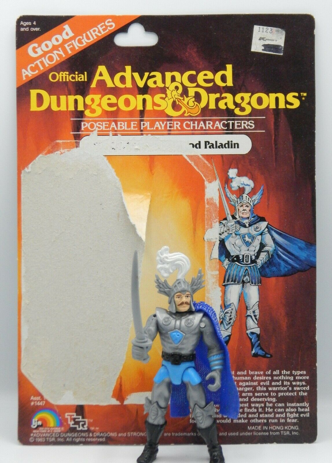 STRONGHEART 1983 vintage LJN Advanced Dungeons & Dragons azione cifra giocattolo NICE