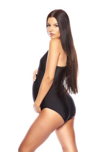 Z314-ba1 - Black circonstance bain maillot de bain enceinte noir neuf taille 46