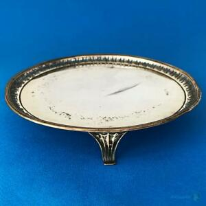 18thC-GEORGE-III-OLD-SHEFFIELD-PLATE-Pierced-WAITER-CARD-TRAY-c1780