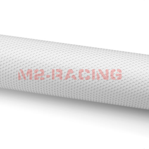 *Premium White Perforated One Way Vision Print Media Vinyl Window Sticker Film