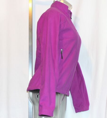 Zip The North Fuld Små Womens Størrelse Fleece Fuschia Face Jacket rrRdxf0