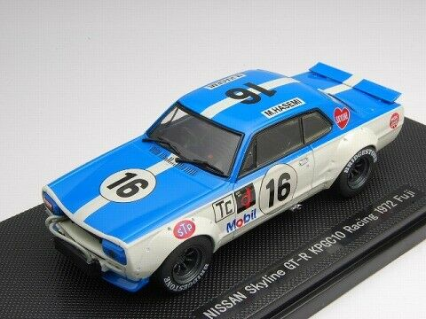 stanno facendo attività di sconto Ebbro 1 43 43 43 Nissan cieloline GT-R KPGC10 Racing Fuji 1972  16 from Japan  spedizione veloce e miglior servizio