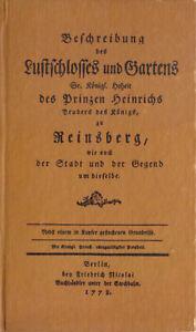 Beschreibung-des-Lustschlosses-und-Gartens-zu-Rheinsberg-1778-Reprint