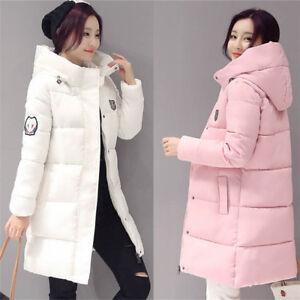 Winter Jackets Women Warm Down cotton Long Hooded Fashion Ladies ... 58d0e4fe7845