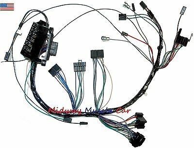 dash wiring harness with fuseblock 65 Chevy Impala ...