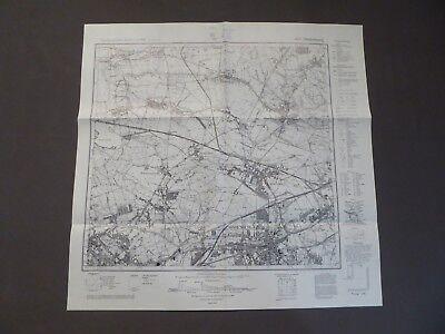 Einfach Landkarte Meßtischblatt 5678 Hindenburg, Zabrze, Schlesien, Oppeln, Polen, 1940