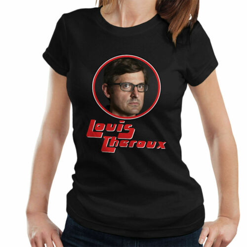 Louis Theroux groove hero t-shirt femme