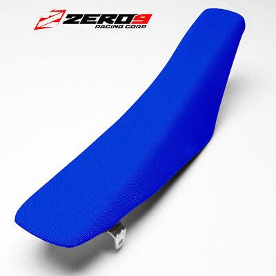 Motocross Gripper Seat Cover Honda Crf250 2010 - 2013 Crf450 2009 - 2012 - Blue Groot Assortiment