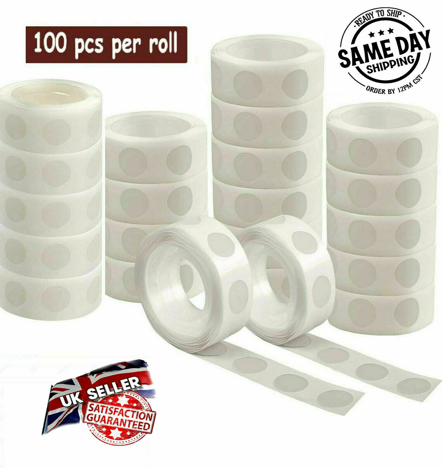 100 dots Tape Balloon Arch Garland Kit Birthday Wedding Baby Shower Hen Party